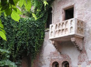 verona romeo and juliet balcony